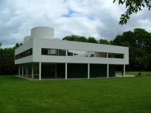 Le Corbusier, Villa Savoye, 1929-1931. Concrete and glass. France.