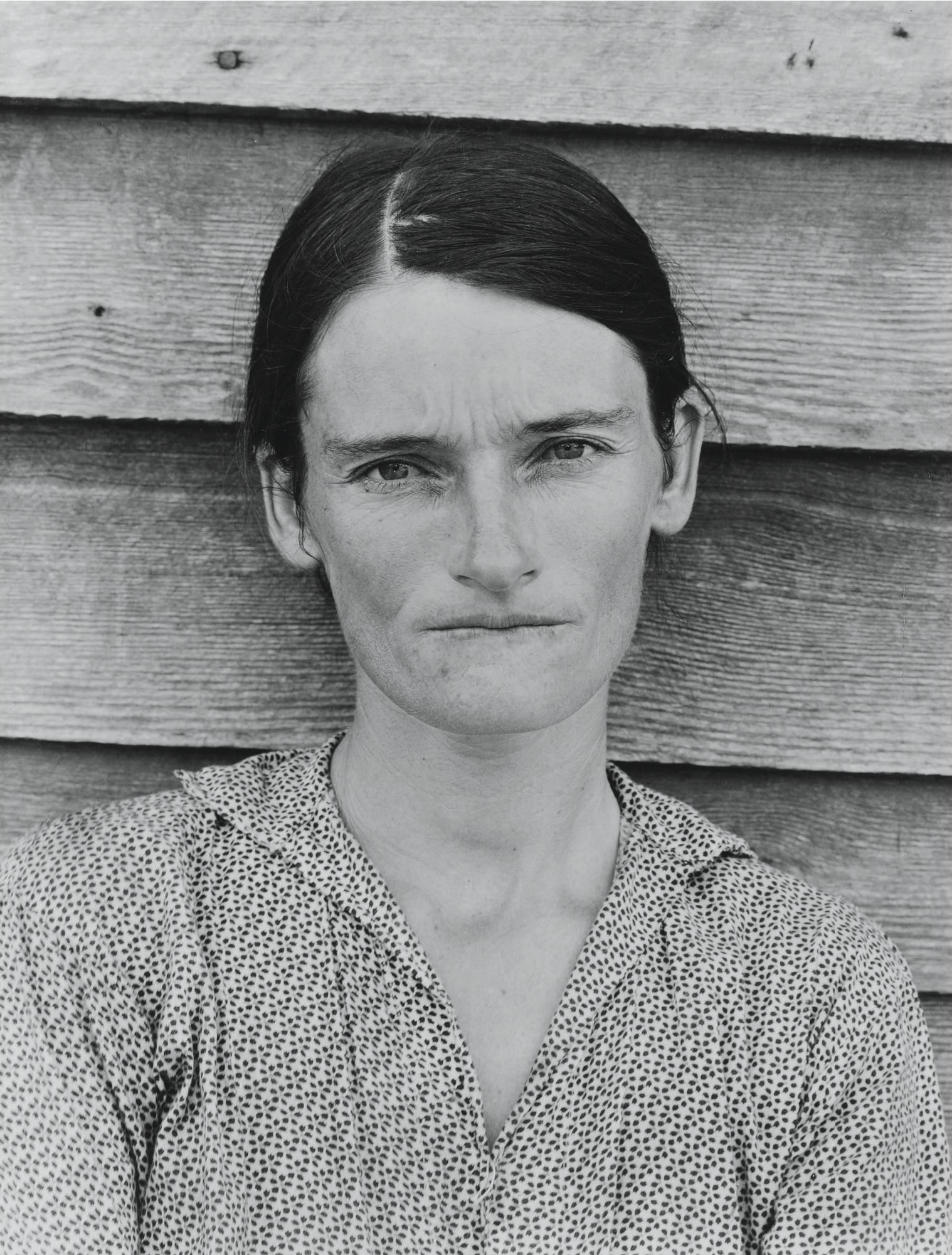 Walker Evans, Alabama Tenant Farmer Wife, 1936. Gelatin Silver Print. The Metropolitan Museum of Art, NYC.