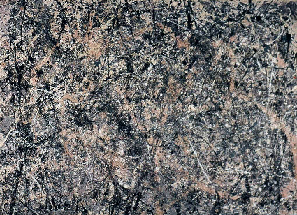 Jackson Pollock, Number 1, 1950 (Lavender Mist), 1950. Oil, enamel, and aluminum on canvas. Ailsa Mellon Bruce Fund National Gallery of Art, Washington D.C.