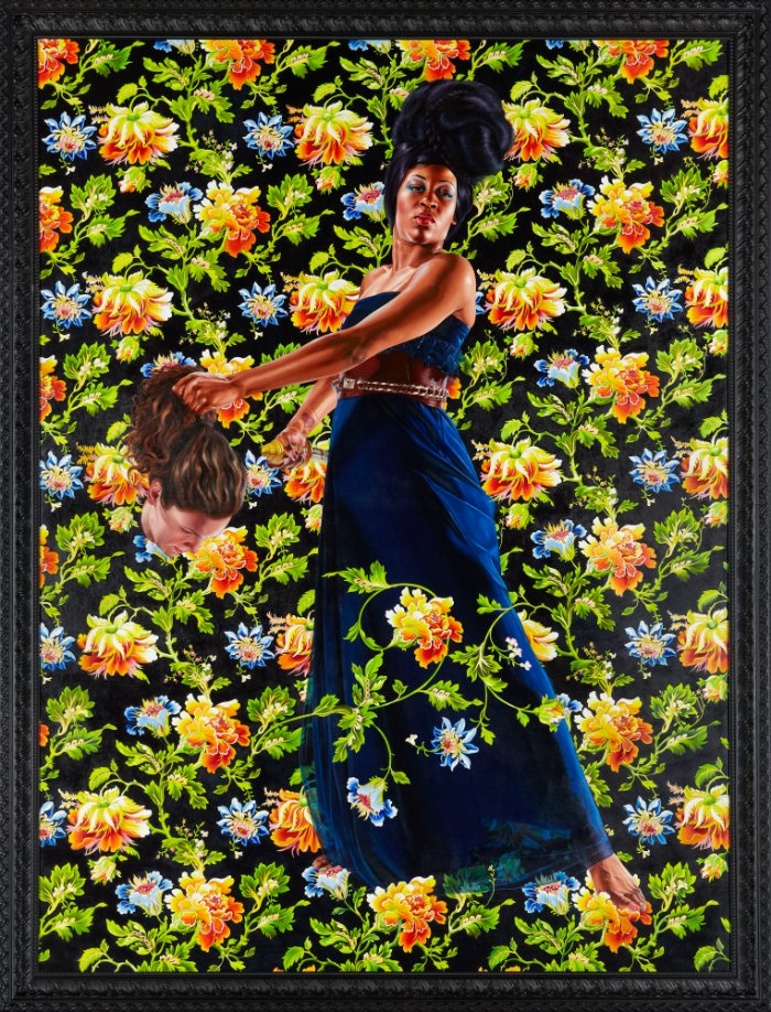 Kehinde Wiley. Judith and Holofernes, 2012. Oil on linen, Artist's studio, Brooklyn, New York.