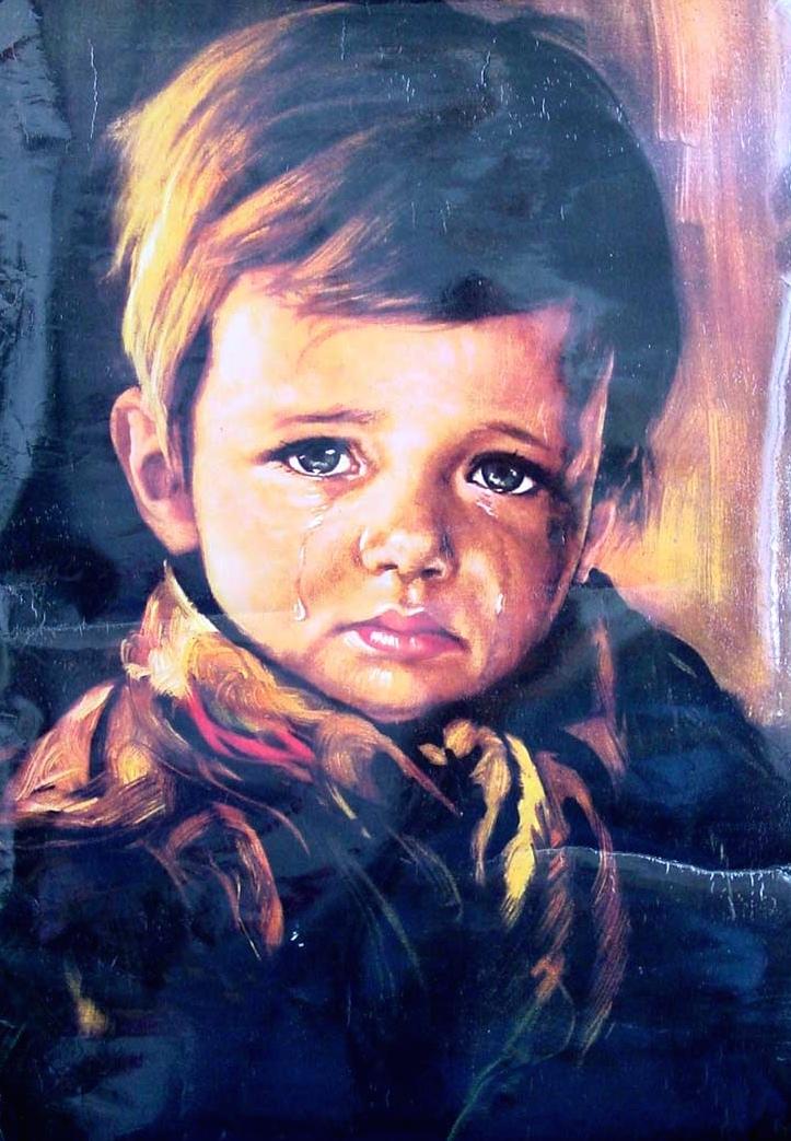Figure 2. Giovanni Bragolin, The Crying Boy.