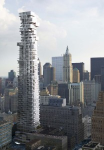 Figure 1. Herzog and De Meuron, 56 Leonard Street, 2007-, New York City.